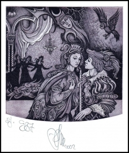 Agirba Ruslan 2002 Exlibris C3 Project Mozart Magic Flute Music