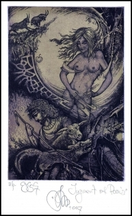 Agirba Ruslan 2007 Exlibris C3 Project Mythology Paris Erotic p