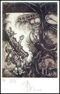 Agirba Ruslan 2005 Exlibris C3 Project Don Quichote Erotic 267p